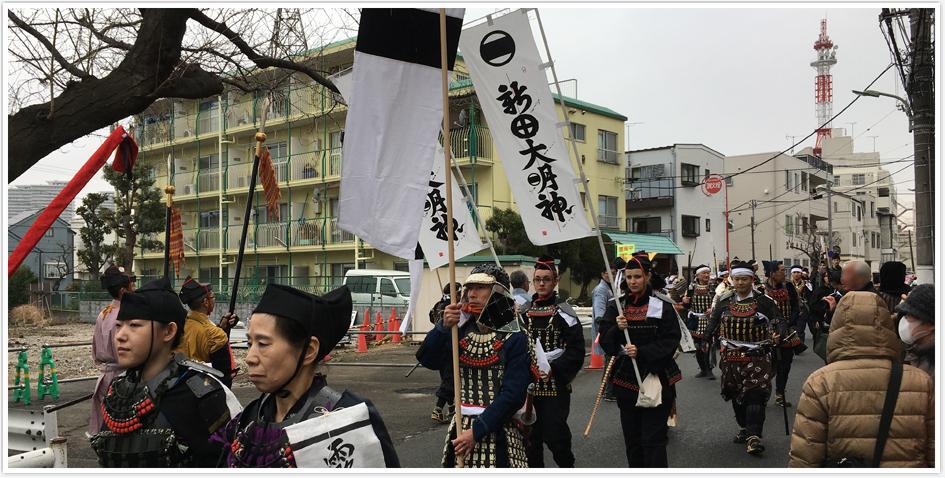 多摩川七福神ツアー